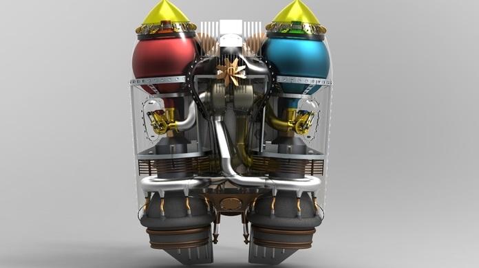 Rocketeer Rocket Pack Clasp Rocketeer Rocketpack 3...